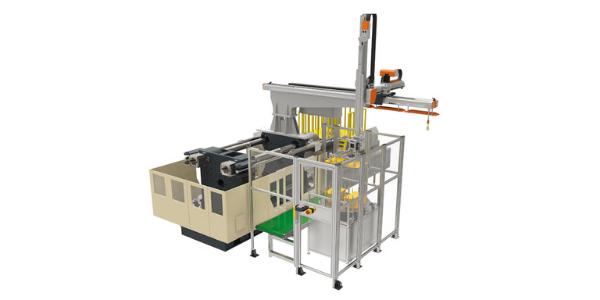 11 Soluções integradas de automação e células produtivas_Automation flannel inserting system for automotive pillar ABC
