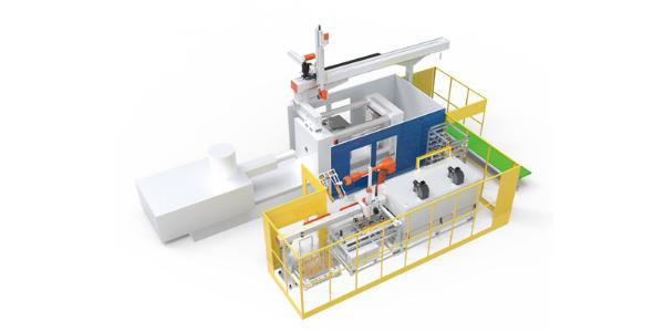 12 Soluções integradas de automação e células produtivas_Heating and insering automation system for hemp plate